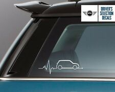 Mini is in my Blood Cooper S window sticker decals graphic 2
