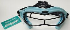 NEW DeBeer ASTM F803 Women's Blue Lucent SI Lacrosse Goggles