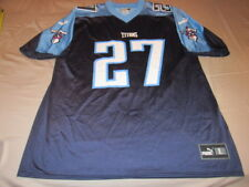 VINTAGE Tennessee Titans Eddie George Puma Size LARGE Jersey NFL Throwback 20cdd3e48