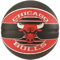 Spalding Chicago Bulls Team Basketball Size 7 Adult Outdoor  Basket Ball Rubber
