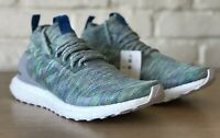 Adidas Ultra Boost Mid Multicolor Grey Green Blue G26844 Size 9 New