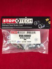 StopTech Brake Pad Sets 2-Wheel Set Front Driver /& Passenger Side 308.07640