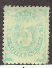 Australia. 1902 5/- Postage due Dull green. Sg D8, Scott J8. Rare. Mh.