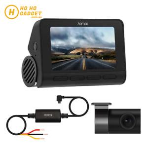 70mai Smart Dash Cam 4K GPS A800S WIFI APP Set Rear Camera Hardware Kit Global