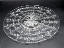 Vintage Indiana Glass Platter/Tray - Grape Pattern