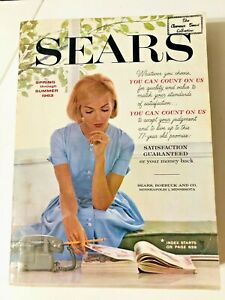 Vintage Sears, Roebuck & Company Spring Summer 1963 Catalog 1,542 Pages