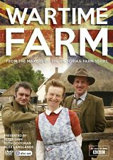 Wartime Farm (Ruth Goodman Edwardian Victorian) Region 4 New DVD (3 Discs)