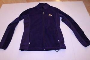 Women's Baltimore Ravens S Fleece Jacket (Purple) Antigua