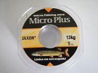 Jaxon 19 Strand 30lb Micro Plus Predator/Pike Wire in 5 meter spools & Crimps