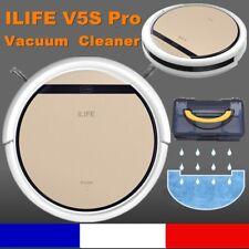 ILIFE V5S Pro Aspirateur Robot Intelligent Balayeuse Humide Sec Nettoyeur Doré
