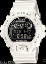 DW-6900NB-7D White Digital Resin Band New Casio Watches G-shock 200M WR