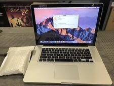 Apple MacBook Pro A1286 Core i5 3Ghz,320G, 4GB RAM, MS Office, CS6, Sierra 10.12