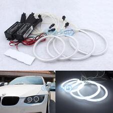 White CCFL LED Angel Eyes Halo Rings Kit For BMW E92 E93 M3 Coupe Headlights