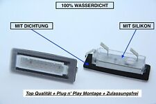 2x TOP LED SMD Kennzeichenbeleuchtung Smart Fortwo Cabrio W450 + Brabus