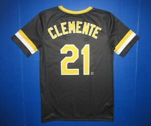 Roberto Clemente Cooperstown Collection Pittsburgh Pirates MLB baseball jersey