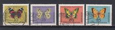 DDR Briefmarken 1964 Schmetterlinge Mi.Nr.1004-07 gestempelt