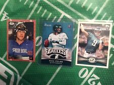 LOT OF (3) 2012 NICK FOLES ROOKIE CARDS