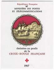 Frankrijk booklet postfris 1967 MHN 1607-1608 - Rode Kruis / Red Cross (K021)