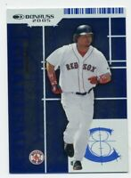 2005 Donruss MANNY RAMIREZ Rare CRAFTSMEN INSERT CARD #/2000 Boston Red Sox C-14