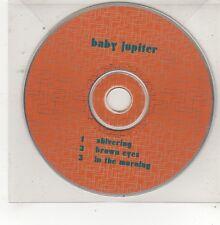 (FQ938) Baby Jupiter, Shivering / Brown Eyes - DJ CD