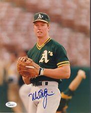 Mark McGwire Athletics Signed 8x10 Photo Autograph Auto JSA L36334