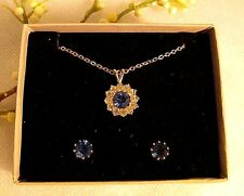 Sapphire Yellow Gold Fashion Jewelry Sets eBay