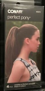 (1)-CONAIR Perfect Pony. Creates A Thicker Ponytail. Stays In Place. Ships Free!