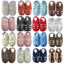 carozoo nouvelle cuir souple semelle des sandales jusqu'à six années pantoufles