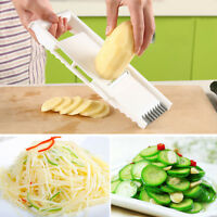 6 Pcs Vegetable Fruit Mandolin Slicer Peeler Potato Cutter Chopper Kitchen Tool