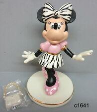 """Lenox Disney Mickey - Minnie Fashionista 6"""" Figurine 845500 - New In Box"""