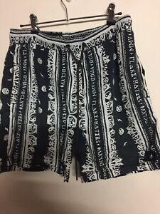 Mens Vanguard Brand Sz L Shorts Elastic Waist