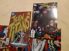 DC Teen Titans #1 Oct 1996 Perez VF + #32 Mar 2006 Alquiza VG Comic Book