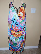 "Women's""RALPH LAUREN""Multi Colors Sleeveless Stretch Dress size M. Super CUTE!"