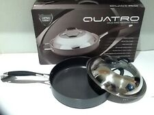 Brand New 30cm Hard Anodized non-stick Frypan with see through glass window