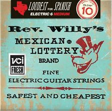 Dunlop RWN1046 Rev Willy's Mexican Lottery Brand Electric strings 10-46