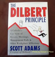 The Dilbert Principle A Cubicle's Eye View Book 1st Edition Illustrated HC New