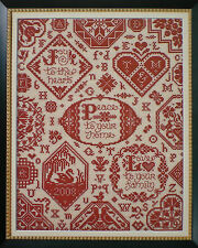 "Sandy Orton ""Simple Blessings Sampler"" Counted Cross Stitch Pattern"