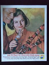 1962 Pepsi-Cola For Those Who Think Young Original Advertisement
