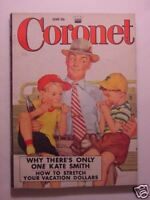 CORONET June 1952 Behind the IRON CURTAIN KATE SMITH THOMAS GRAY The Circus