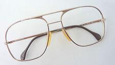Zeiss mod 5777 Herren Brille Brillenfassung Metall sehr groß Vintage 70er GrößeL