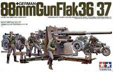 Tamiya 88mm Gun Flak 36/37 1/35 Scale Kit 35017