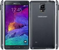 "Samsung Note 4 N910 -5.7""- 32GB - 16MP - 3GB RAM (Unlocked) Smartphone Graded"