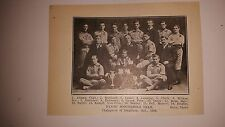 Dynes' Scoundrels Hamilton Ontario 1910 Indoor Baseball Team Picture