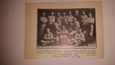 Dynes' Scoundrels Hamilton Ontario 1910 Indoor Baseball Team Picture
