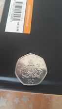 coat of arms 50p Christopher ironside 2013