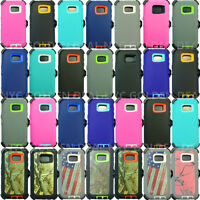 For Samsung Galaxy (S7) Defender Case (Belt Clip Fits Otterbox)