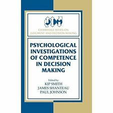 Psychological Investigations of Competence in De, , New