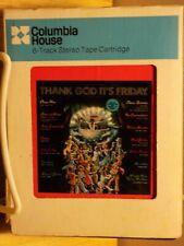Va~Thank God It's Friday s'trk~8 Track Tapes w/Slip Cases~2 Tapes~Vg+ to Ex