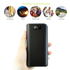 External 300000mah Power Bank Pack Portable 3usb Battery Charger FR Mobile Phone Blue