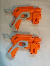 Nerf C-015C Pull Back Dart w/ Laser Sight pair (two) & Ammo